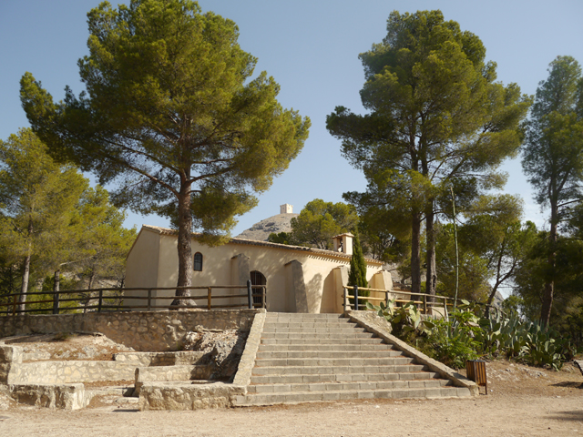 Resultado de imagen de ermita de santa barbara cocentaina